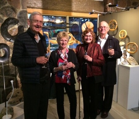 openning night support   McMichael Gallery 2017
